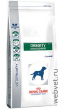 Royal Canin obesity management dp34 собаки